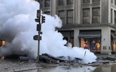 Foritas Contingency Plans for Customers Impacted by Flatiron Steam Pipe Explosion in NYC